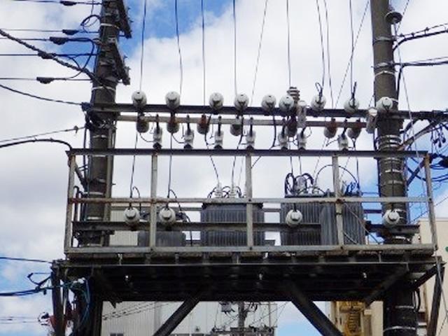受電設備/柱上変圧器台